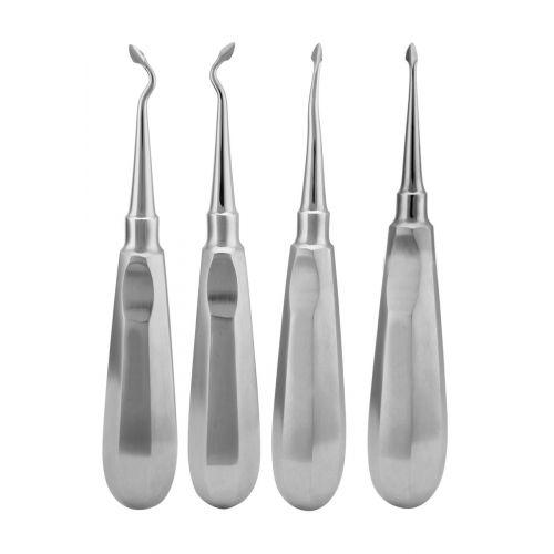 Spade Tip Dental Elevator Set
